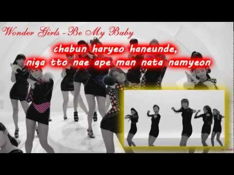 Be My Baby – Wonder Girls (Karaoke/Instrumental)