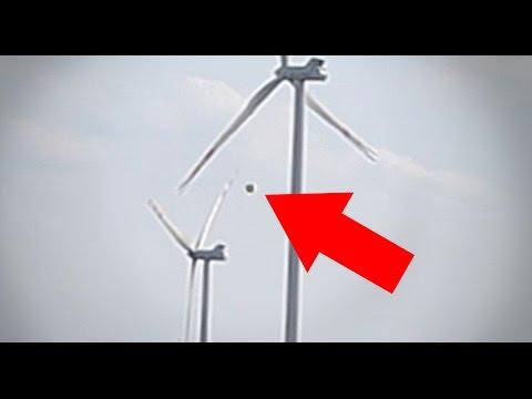 questo ufo spegne un impianto eolico mente vola tra le turbine