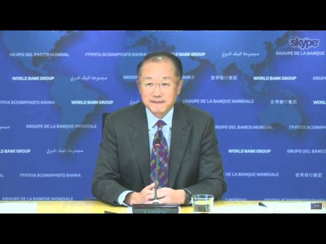 In Conversation … World Bank President Jim Yong Kim
