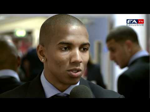 Ashley Young Post Match Interview | Wales 0-2 England 26/03/11