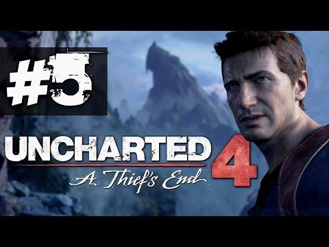 Прохождение Uncharted 4 на русском [60FPS] - часть 5 - Итальянски и шотландские разборки