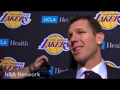 'There is NO Doubt that Lakers Support Me' Luke Walton talks 4th Straight win & More!