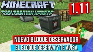 Este nuevo bloque de Minecraft 1.11 nos dará un mundo de posibilidades en los nuevos circuitos de redstone!!! ┌ SUSCRIBETE PARA MAS ┐ ►►► CLIC AQUÍ: http://g...