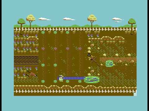 Attack of the Mutant Cabbages (C64 4k game) by Anthony Stiller