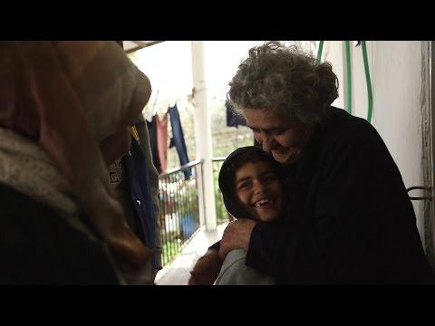 Greece: The Refugees' Grandmother in Idomeni