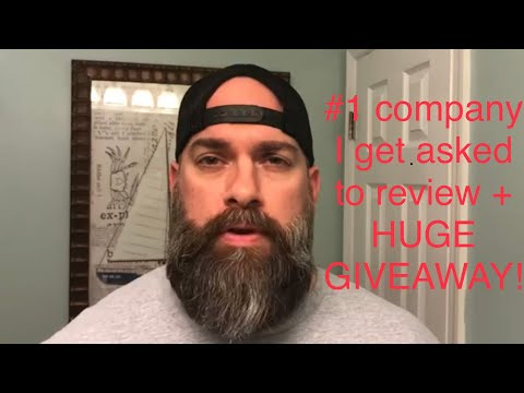 Beard oil - Number One Company I Get Asked To Review From You Guys + A Huge Giveaway!