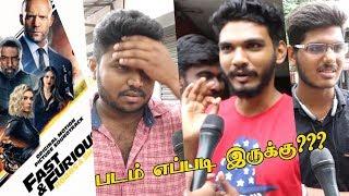 HobbsAndShaw Tamil Public Review | Jason Statham |Dwayne Johnson