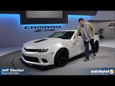 2014 Chevrolet Camaro Z/28 At The 2013 New York Auto Show