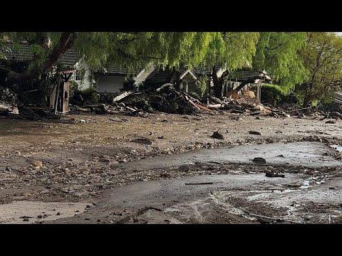 Kalifornien: Nach Feuer jetzt Wolkenbrüche und Erdr ...