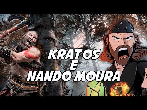 God of War e Nando Moura  - Um Gameplay Simples mas  Importante (видео)