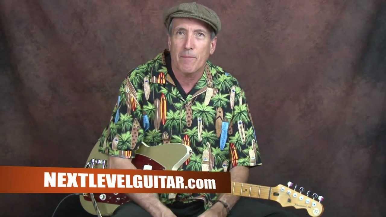 Learn Beginner Surf electric guitar early 60's Southern California music Dick Dale inspired lesson