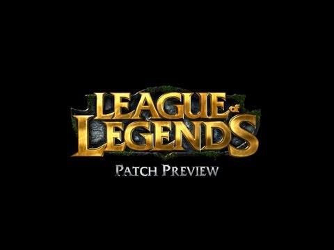 patch - Break out the nerf guns and buff pads: it's time for another round of the Patch Preview. Click here to sign up and play League of Legends for free: http://bi...