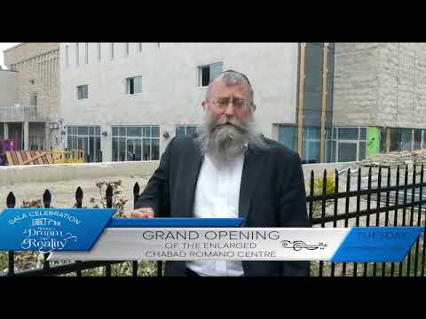Grand Opening Celebration at Chabad Romano