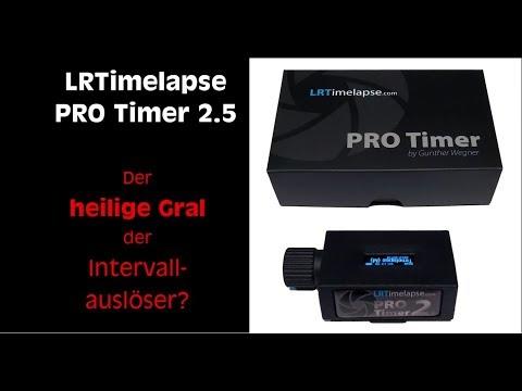 Unboxing, Hands On und Review zum neuen LRTimelapse pro Timer 2.5 von Gunther Wegner