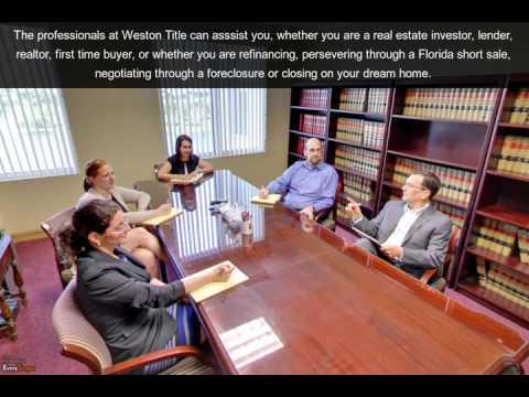 Weston Title & Escrow   Weston, FL   Title Company