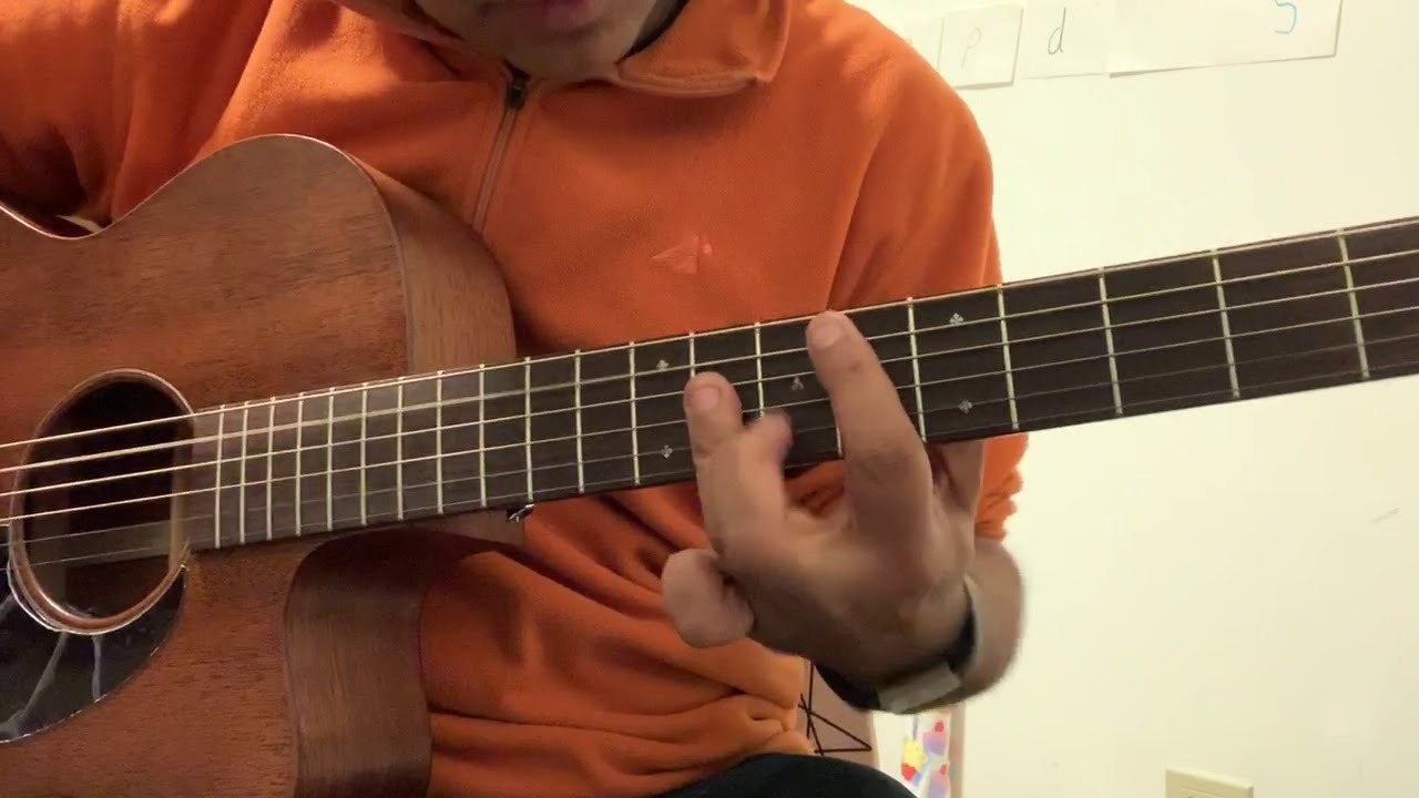 Bohemian Rhapsody- Part 2 – The crazy operatic parts – Solo Acoustic Guitar