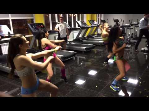 ZUMBA in Sport Town (видео)