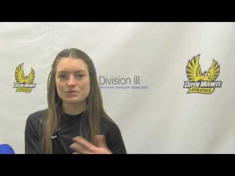 Claudia Keep at the NCAA Track Championship