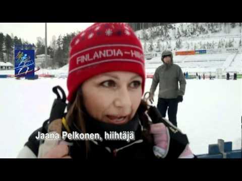 Finlandia-hiihto 2011 - Jaana Pelkosen haastattelu tekijä: FinlandiaSkiMarathon