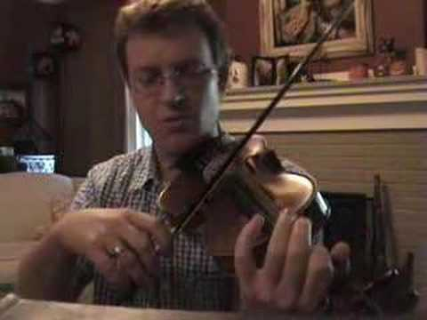 Violin Lesson #18; Playing in Tune, part 1