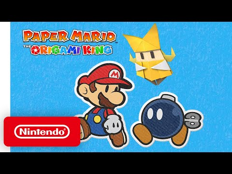 Paper Mario: The Origami King : Bande-annonce récap