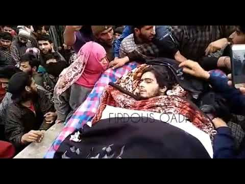 Funeral Of Shakir Ahmad In Tral