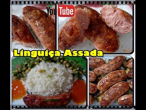 Linguiça assada