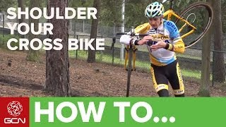 How To Shoulder Your Cyclocross Bike Like A Pro With Bart Wellens