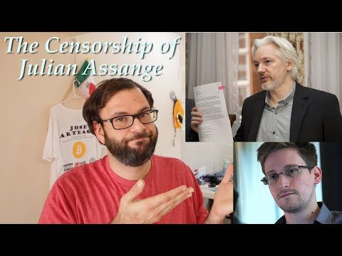 The Censorship Of Julian Assange & Everyone Else - Where Has Freedom Of The Press Gone?