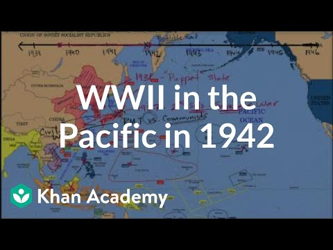 World War II in the Pacific in 1942 (video) | Khan Academy