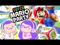 HUSBAND & WIFE vs CHEATING NPC! Super Mario Party | Game Night Date Night!