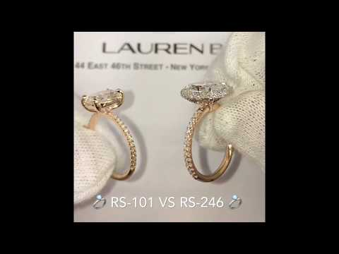 Oval Diamond Engagement Rings Comparison