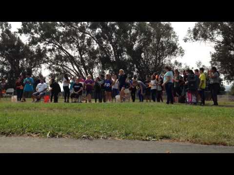 ALS Ice Bucket Challenge in Fairfield CA by B.Gale Wilson