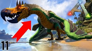 Video UNE NOUVELLE WYVERN GÉANTE ARRIVE ! | ARK MOD : Survival Evolved ! #Ep11 MP3, 3GP, MP4, WEBM, AVI, FLV Oktober 2017