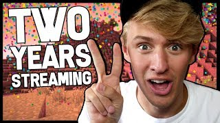 • TWO YEARS STREAMING ANNIVERSARY!! | Minecraft Minigames Livestream