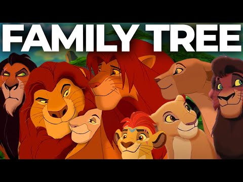 The Complete Lion King Family Tree
