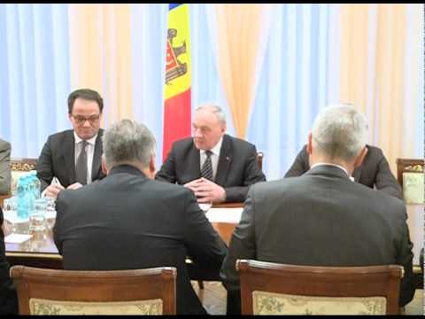 Moldovan head of state meets former Polish, Serbian, Albanian presidents