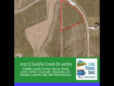 2197 E Saddle Creek Drive Roanoke IN  46783