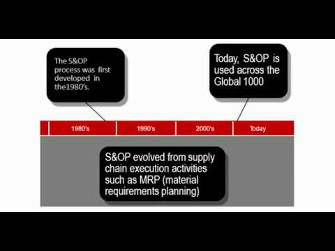 Sales and Operation Planning: Introduction