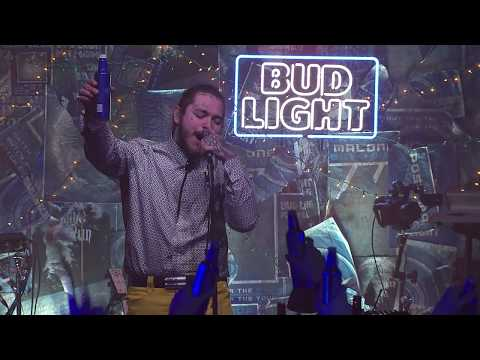 Video Post Malone - Psycho (Live From The Bud Light x Post Malone Dive Bar Tour Nashville) download in MP3, 3GP, MP4, WEBM, AVI, FLV January 2017