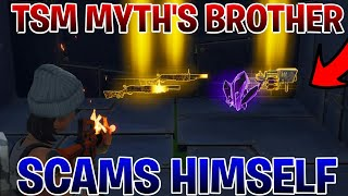 Video TSM_MYTH'S Brother Scams Himself (Scammer Gets Scammed)Fortnite Save The World MP3, 3GP, MP4, WEBM, AVI, FLV Juni 2019