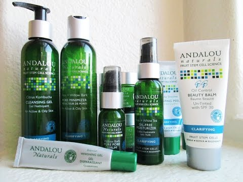 Andalou Naturals Clarifying Line Review for Active and Oily Skin