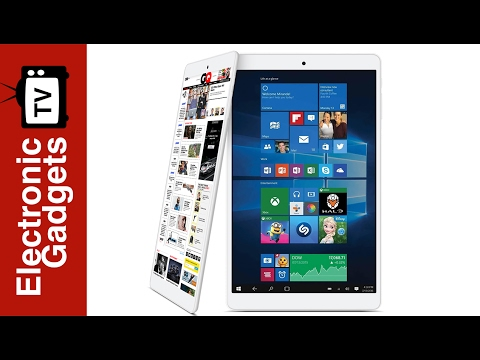 8 Inch Teclast X80 Pro Dual-OS Tablet PC Review with  HDMI and Windows 10, Android 5.1