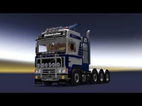 Volvo F10 / F12 4x2, 6x2, 6x4, 8x4 1.26