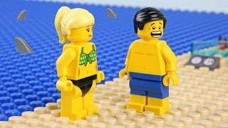 Video Lego Shark Attack - Deserted island MP3, 3GP, MP4, WEBM, AVI, FLV Juni 2018