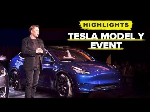 Tesla Model Y event highlights