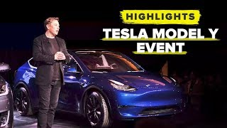 Tesla Model Y event highlights
