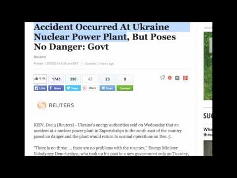 Nuclear power danger - https://www.youtube.com/channel/UC1N85MiTQ-N0gsI3XBCCYbw?sub_confirmation=1. Accident Occurred At Ukraine Nuclear Power Plant, But Poses No Danger: Govt. Ukr...