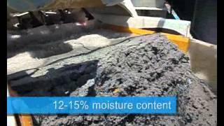 EvoWash sand washing plant in action