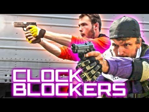 preview-CLOCK BLOCKERS - A Mind Bending Gunfight (Machinima)